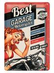 Tin Sign Best Garage