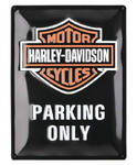 Tin Sign HD Parking
