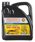 Procycle 4-T Engine Oil, Part. Synth, 10W-40, 4 l