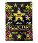 Rockstar Energy Decal Sheet 33 x 48,5 cm
