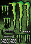Monster Energy Decal 33 x 48,5 cm