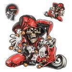 Sticker Skeleton Jester
