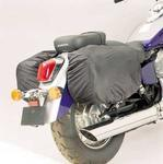 Raincover-Set, for Leather Saddlebags