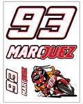 Marc Marquez samolepky malé