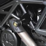 Barracuda padací protektory - Ducati Diavel 2011-2016