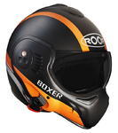 Roof Boxer V8 Manga matt black/orange