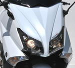 Ermax přední maska, 2x obrysové světlo Yamaha TMax 530 2012-2014