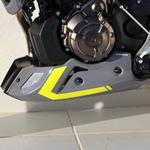 Ermax kryt motoru Yamaha MT-07 2014-2015, 2016 gris/jaune fluo(night fluo)