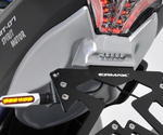 Ermax podsedadlový plast Yamaha MT-07 2014-2016, satin grey (matt grey/MNM3)
