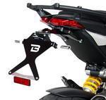 Barracuda nastavitelný držák SPZ - Ducati Hypermotard/Hyperstrada 2013-2015