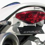 Ermax podsedlový plast - Ducati Monster 696/1100/S 2008-2014, 696/1100 s 2009/2011 white