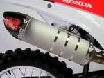 RP výfukový systém ovál carbon/titan - Honda CRF250R 2014-2015