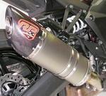 RP 2x koncovka ovál carbon/titan - Kawasaki Z1000 2014-2016
