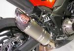 RP 2x koncovka ovál carbon/carbon - Kawasaki Z1000 2014-2016