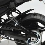 Ermax zadní blatník s krytem řetězu - Yamaha FZ8 Fazer 2010-2016 glossy black (SMX)