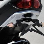Ermax podsedlový plast s držákem SPZ - Yamaha FZ8 Fazer 2010-2016 bez laku