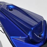 Ermax kryt sedla spolujezdce - Yamaha YZF-R125 2008-2014 2013 metallic blue (race blu)