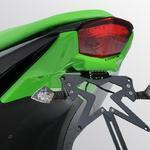 Ermax podsedlový plast s držákem SPZ - Kawasaki Ninja 250R 2008-2012 2012 fluo green (lime gren)