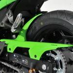 Ermax zadní blatník s krytem řetězu - Kawasaki Ninja 300 2013-2016 fluo green (lime green)