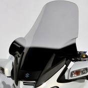 Ermax turistické plexi +18cm, rozšíření na ruce - Suzuki Burgman 650/Executive 2002-2012, čiré