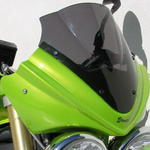 Ermax přední maska s plexi 25cm - Triumph Street Triple 2007-2011 2008/2009 pearl green (roulette green)with light black screen