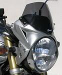 Ermax maska broušený hliník, černé plexi - Honda CB600F Hornet 2005-2006