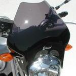 Ermax Mini Fazmax plexi větrný štítek 30cm - Yamaha FZ6 2004-2008 černé kouřové