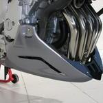 Ermax kryt motoru - Yamaha FZ6/Fazer/S2 2004-2011, FZ6/S2 2007/2008 clear metal grey (metallic silver/sm1)