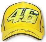 Valentino Rossi VR46 kšiltovka žlutá