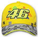 Valentino Rossi VR46 dětská kšiltovka žlutá