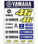 Valentino Rossi VR46 Yamaha samolepky