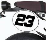 Barracuda boční číslové tabulky - Yamaha XSR900 2016
