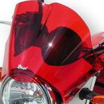 Ermax plexi větrný štítek 24cm - Suzuki Bandit 650/1250 2005-2009, červené