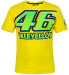 Valentino Rossi VR46 triko pánské - žluté