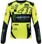 Valentino Rossi VR46 pánské triko dl. rukáv - edice Monster Replica