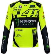 Valentino Rossi VR46 triko dl. rukáv pánské - edice Monster