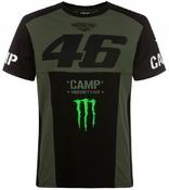 Valentino Rossi VR46 triko pánské - edice Monster Camp
