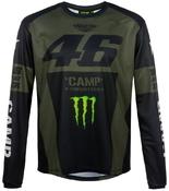 Valentino Rossi VR46 triko dl. rukáv pánské - edice Monster Camp