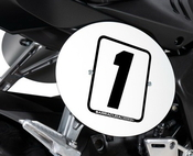 Barracuda boční číslové tabulky - Honda CB650R 2019