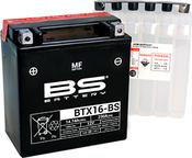BS Battery BTX16-BS (YTX16-BS)