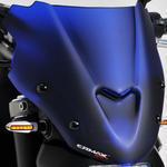 Ermax Sport plexi větrný štítek 27cm - Yamaha MT-07 2014-2015, modré satin