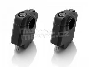 SW-Motech zvýšení řídítek průměr 22mm + 30mm černá