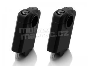 SW-Motech zvýšení řídítek průměr 22mm + 50mm černá