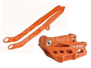Acerbis sada vodítek řetězu EXC/12-13, oranžová