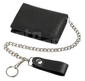 Leather Wallet, black - 1