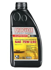 Procycle Gear Oil 75W-140, GL-5, 1 l