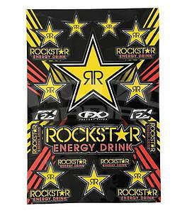 Rockstar Energy Decal Sheet 33 x 48,5 cm