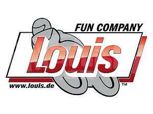 Louis Sticker 22 x 12 cm