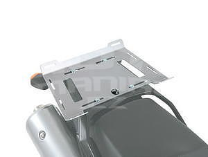 Hepco & Becker Extension-Plate Silver, for Luggage Racks - 1