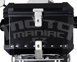 Trax Evo Alu Top-Box 38 Litres, Black - 1